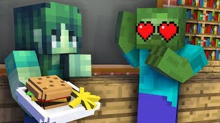 Monster School : GIRLS VS BOYS COOKING CHALLENGE - Minecraft Animation