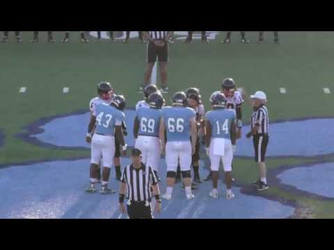 Camden County High School Football vs Charlton County Football Scrimmage 5 16 17
