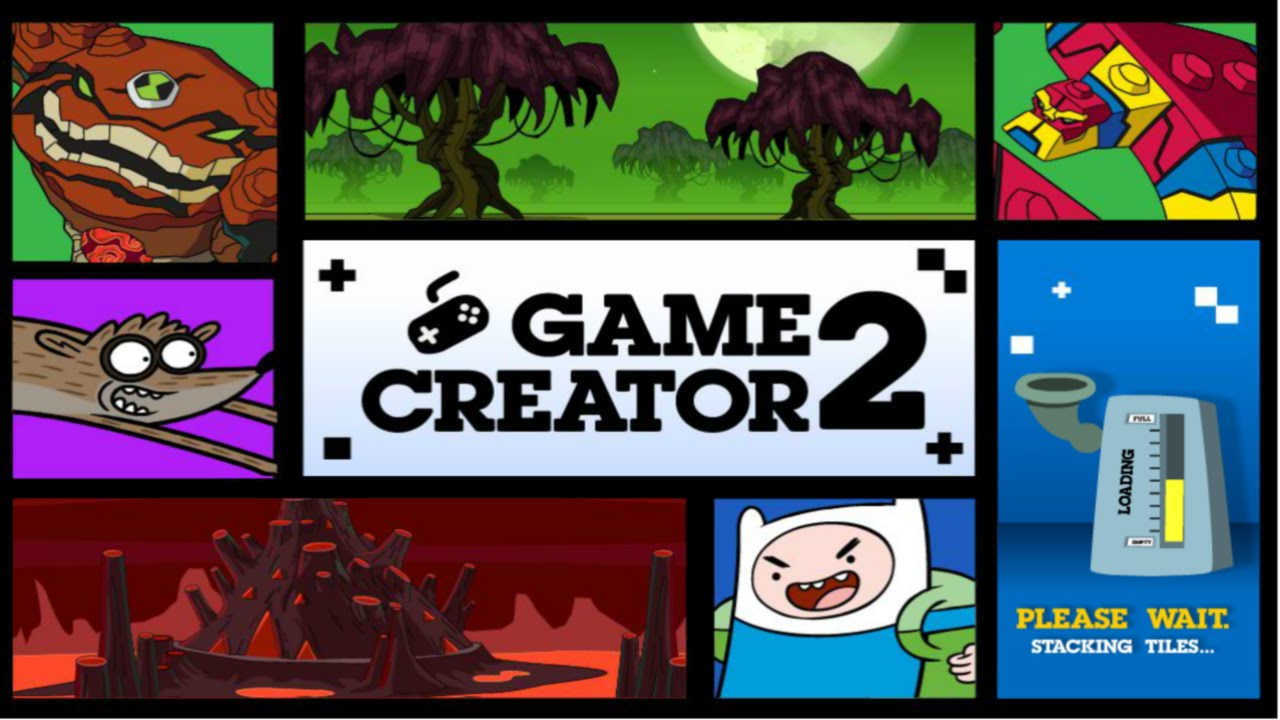 Cartoon Network Games Game Creator 2 Youtube