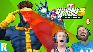 The X-Men are Here! Marvel Ultimate Alliance 3 Part 6 | KIDCITY GAMING