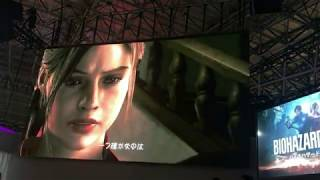 Tokyo Game Show 2018 Capcom Resident Evil2 RE Demo Crea&Leon play movie