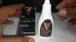 Vigore Oil For Men Full Review