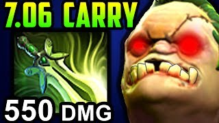 MONSTER CARRY PUDGE DOTA 2 PATCH 7.06 NEW META PRO GAMEPLAY