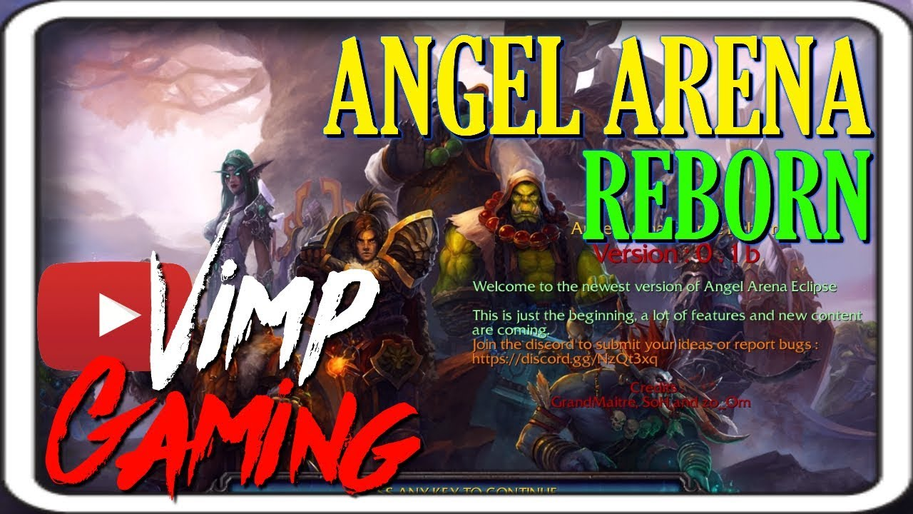 Warcraft 3 | Angel Arena Eclipse Reborn | Impossible BOSSES!