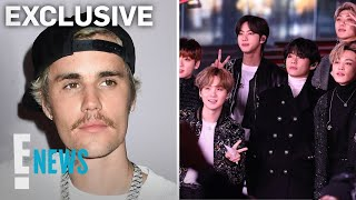 Justin Bieber Explains Why BTS \Dynamite\ Is Such a Big Deal  E News
