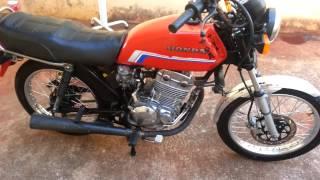 cg 125 com motor de twister