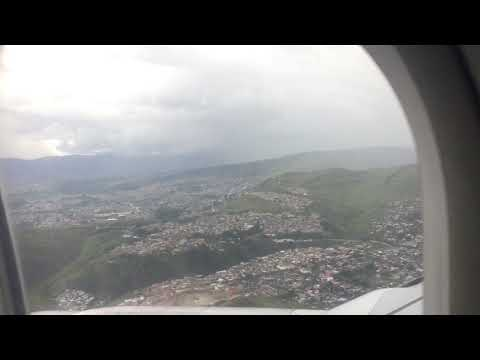 Dramatic landing in Tegucigalpa