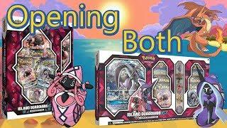 POKEMON Island Guardians GX Premium Collections Unboxing: Both Tapu Lele & Tapu Fini Sets