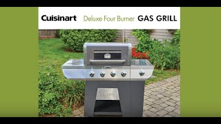 Deluxe Four Burner Gas Grill Assembly (GAS9456AS)