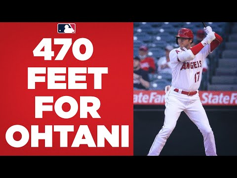 Download 470 FEET FOR OHTANI! Shohei Ohtani CRUSHES a LONG homer against the Royals!