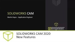 SOLIDWORKS CAM 2020 Tutorial - New Features