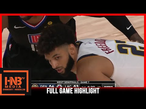 Nuggets vs Clippers Game 7 9.15.20 | 2nd Round | Full Highlights