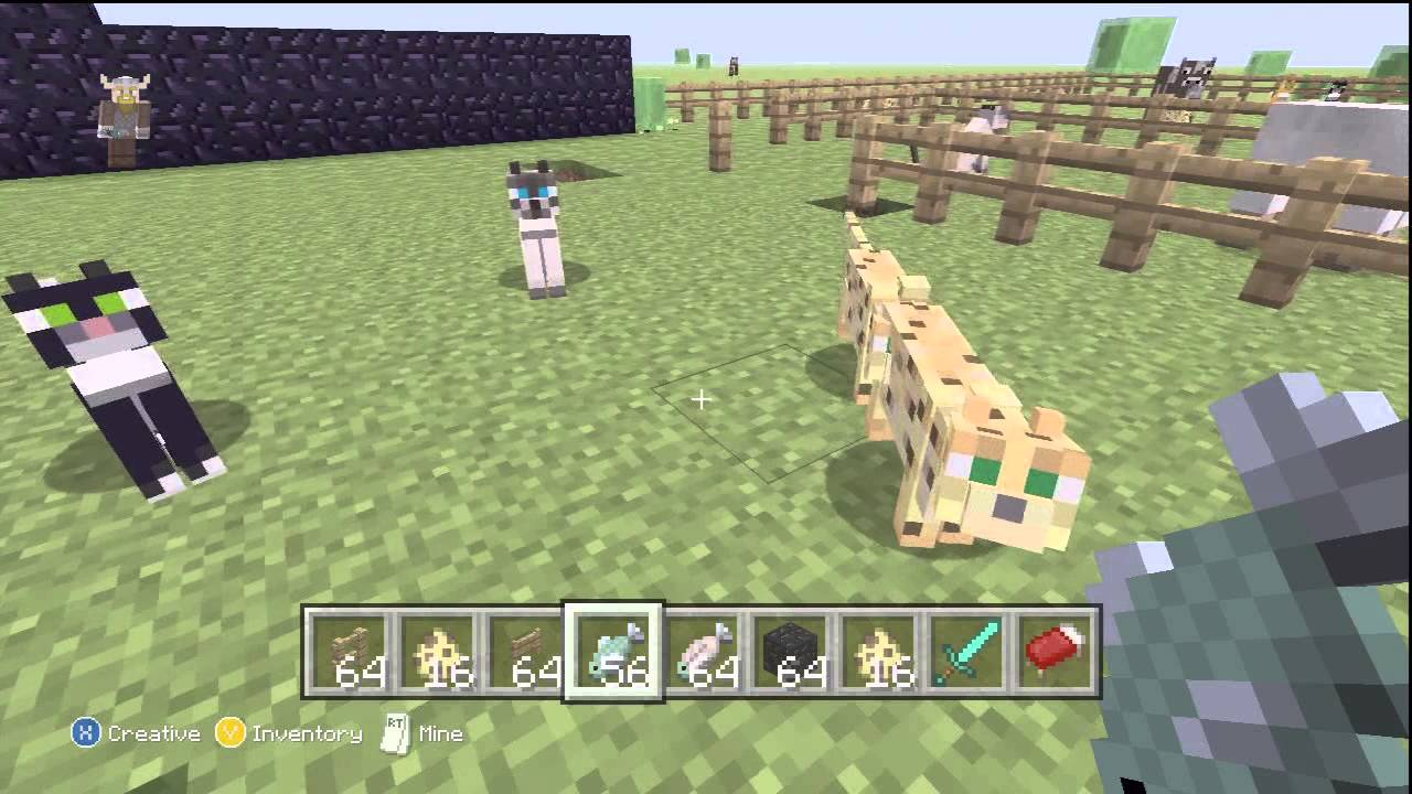 Minecraft xbox 360 how to train ocelots tips all 3 cat skins minecraft xbox 360 how to train ocelots tips all 3 cat skins youtube ccuart Gallery