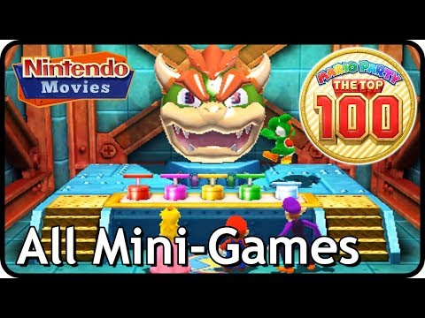 Mario Party The Top 100: All Mini Games (Multiplayer)