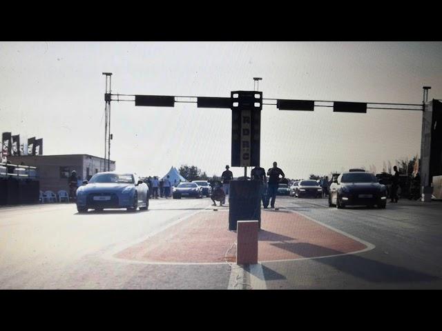 Авария - Nissan GTR сгорел на Московской миле 2019