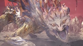 Monster Hunter World: Iceborne - Shara Ishvalda Final Boss and Ending (Solo / Longsword)