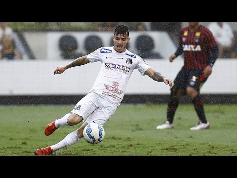Santos 5 x 1 Atlético-PR | MELHORES MOMENTOS | Brasileirão (06/12/2015)