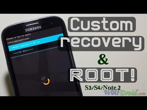 How to Install CWM Recovery + Root Samsung Galaxy S3/S4/Note