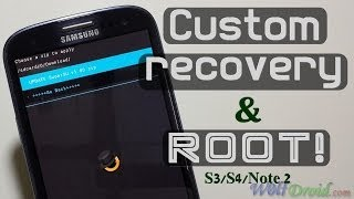 How to install cwm recovery + root samsung galaxy s3/s4/note 2