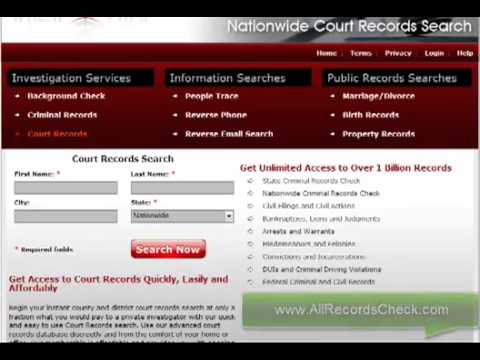 How to Do FREE Court Records Check Nationwide
