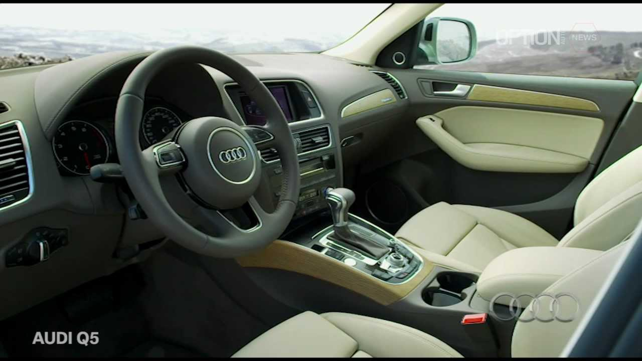 Audi Q5 Facelift 2013 Interior [HD] (Option Auto News) - YouTube