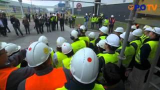 Reportaż - Premier Donald Tusk  z wizytą w Elektrowni Bełchatów, 28.09.2011 - PO TV