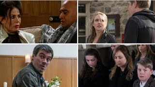 Emmerdale funeral, blackmail and baby shock: 10 big spoilers revealed
