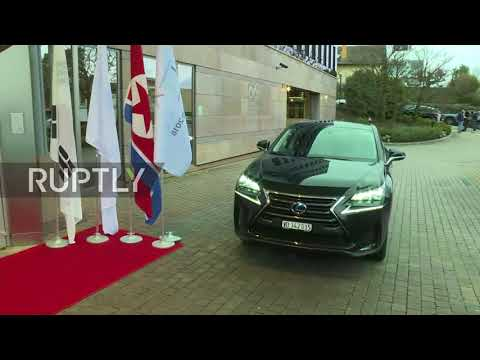 Switzerland: Delegations arrive to discuss DPRK in Winter Olympics 2018