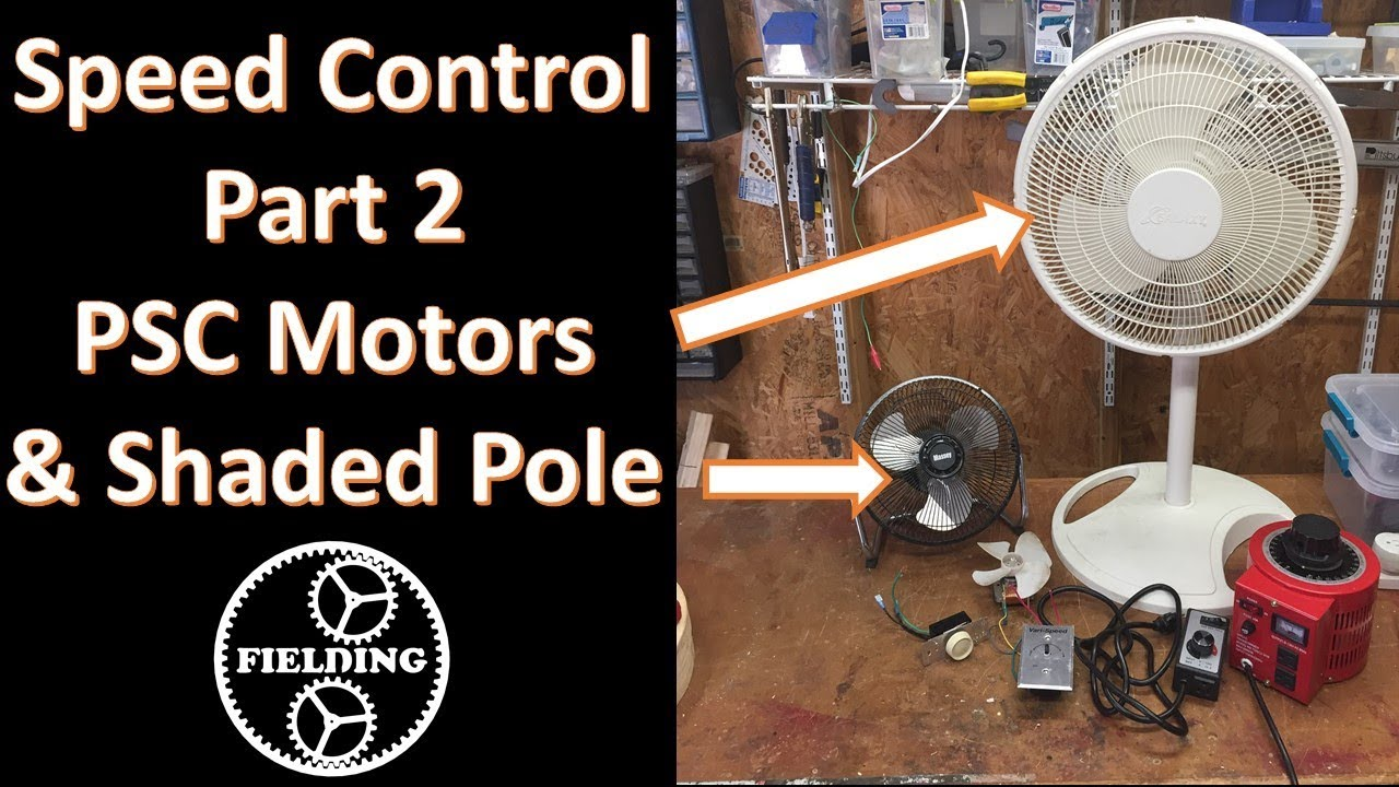 Speed Control for Shaded Pole and PSC motors