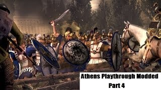 Total War: Rome II: Modded Athens Playthrough Part 4