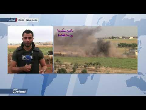 ميليشيا أسد الطائفية تقصف مدينة كفرزيتا شمال حماة بالمدفعية الثقيلة - سوريا  - 18:53-2019 / 6 / 5