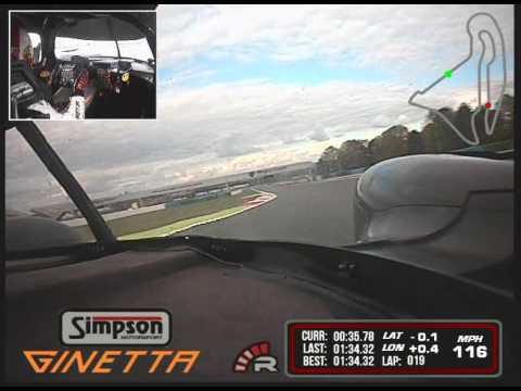 Mike Simpson Magny Cours Hot Lap