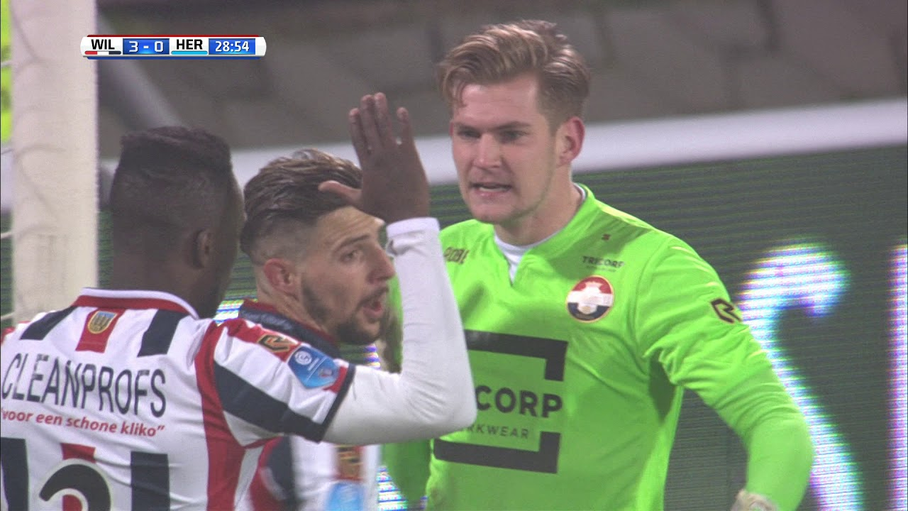 Willem II - Heracles Almelo 3-1 | 02-12-2017 | Samenvatting