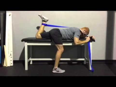 prone knee flexion stretch  youtube