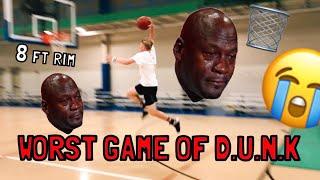 WORST GAME OF D.U.N.K EVER??? Video