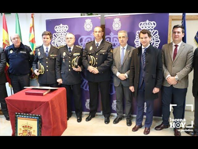 VÍDEO: José Luis Puertas, nuevo Inspector Jefe de la Comisaría de Policía Nacional de Lucena.