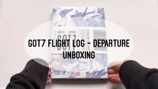 [ Got7 ] Flight Log - Departure Unboxing