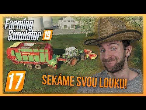 SEKÁME SVOU LOUKU! | Farming Simulator 19 #17 thumbnail