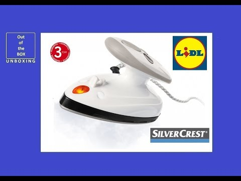 SilverCrest Travel Steam Iron SDBR 420 A1 UNBOXING (Lidl Silk, acrylic, rayon Wool Cotton, linen)