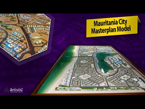 Mauritania Project Master Plan Scale Model - Africa