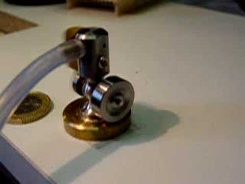 Tiny Micro Steam Air Engine By Ebgmodels Youtube