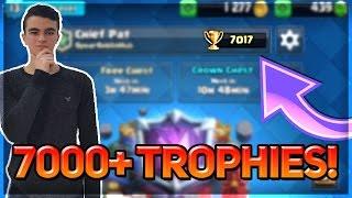 קלאש רויאל - 7000 גביעים האם זה אפשרי?! שיאי עולם חדשים!
