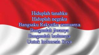 lndonesia Raya minus one karaoke syair Do=C# _wmv