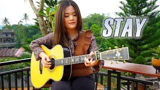 (The Kid LAROI, Justin Bieber) STAY - Fingerstyle Guitar Cover | Josephine Alexandra