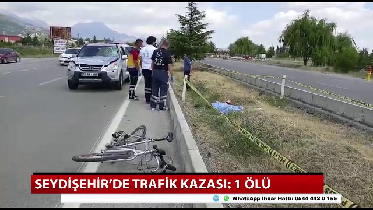 Konya'da trafik kazası! Dünya üçüncüsü kazada öldü
