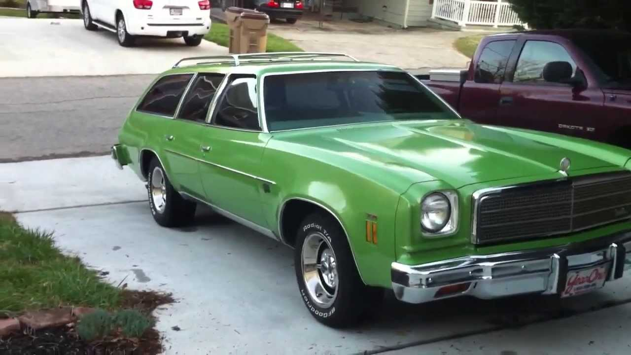 All Chevy 74 chevy : 1974 Chevy Chevelle Malibu Classic Station Wagon - YouTube