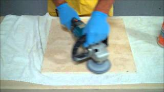 Appleby-How to remove etch Marks from Travertine