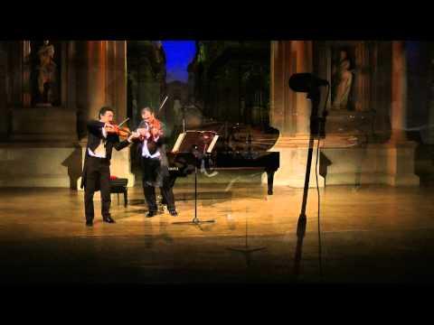 Enzo Ligresti ed Enrico Balboni interpretano la Passacaglia di Haendel-Halvorsen