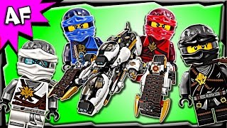 Lego Ninjago ULTRA STEALTH RAIDER 70595 Stop Motion Build Review