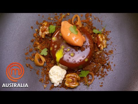 Chef Anna Polyviou's Carrot Cake   MasterChef Australia   MasterChef World